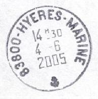 HYERES - MARINE E16