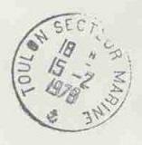 TOULON - SECTEUR - MARINE E25