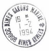 NIMES - GARONS - MARINE F17