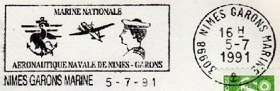 NIMES - GARONS - MARINE G14
