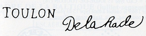 Cachets et Marques manuscrites de La Rade de Toulon 1771/1875 Img13210