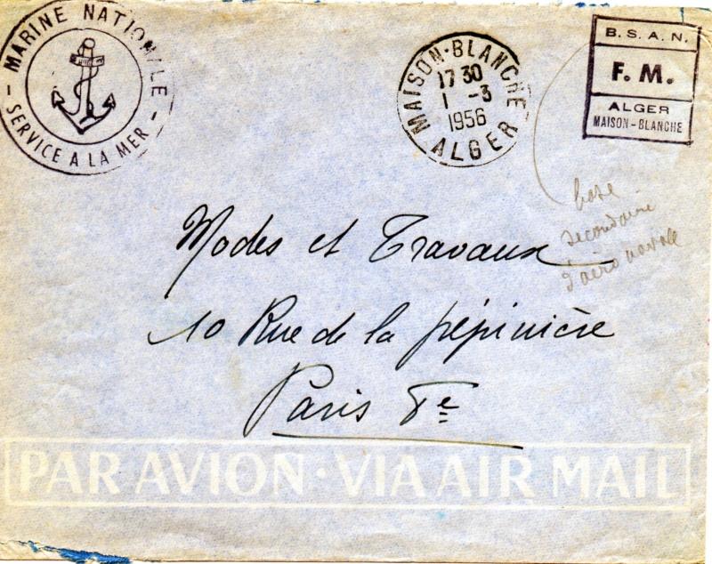 ALGERIE - MAISON BLANCHE Img48712