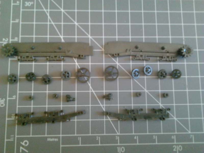 High Speed Tractor M5 et M2 155mm Gun Long Tom [Hasegawa - 1/72] Photo114