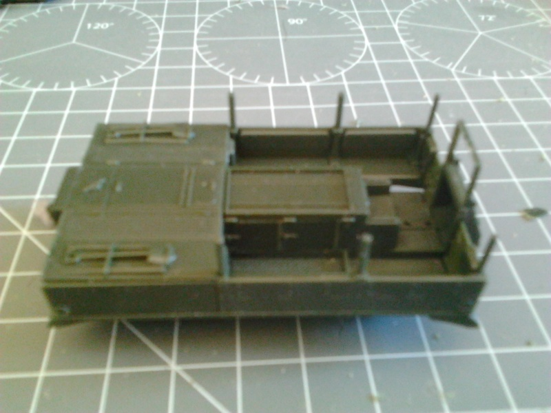 High Speed Tractor M5 et M2 155mm Gun Long Tom [Hasegawa - 1/72] Photo116