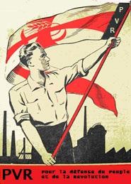 Les colleurs d'affiches du PVR Propag10