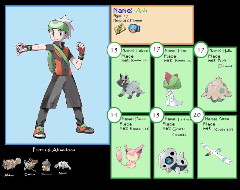 Pokemon : Teh Nuzlocke Challenge Equipe10