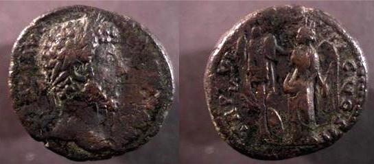 As de Lucius Verus (RIC III n°1448) ... Ric_1410