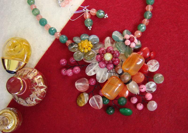 """""""Flori de piatră-Bijoux"""" albumul II-bijuterii artizanale marca Didina Sava - Pagina 10 00411"""