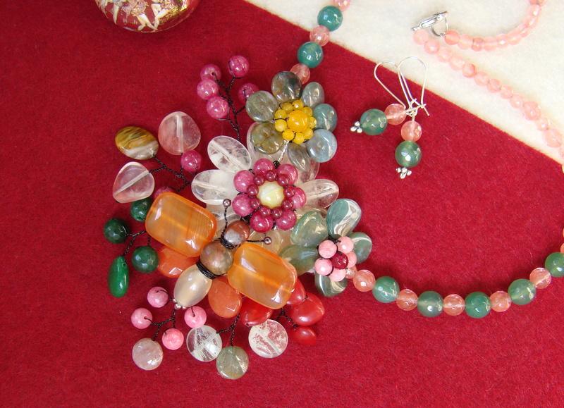 """""""Flori de piatră-Bijoux"""" albumul II-bijuterii artizanale marca Didina Sava - Pagina 10 00613"""