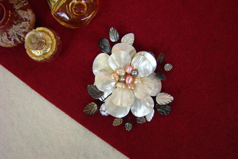 """""""Flori de piatră-Bijoux"""" albumul II-bijuterii artizanale marca Didina Sava - Pagina 12 Colie123"""