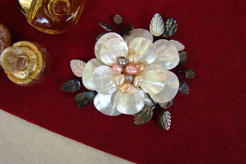 """""""Flori de piatră-Bijoux"""" albumul II-bijuterii artizanale marca Didina Sava - Pagina 12 Colie124"""