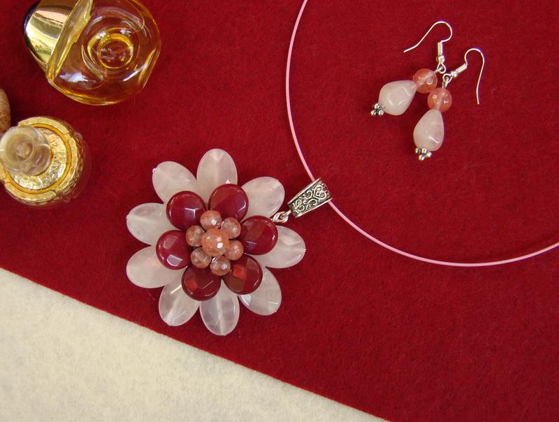 """""""Flori de piatră-Bijoux"""" albumul II-bijuterii artizanale marca Didina Sava - Pagina 12 Colie125"""