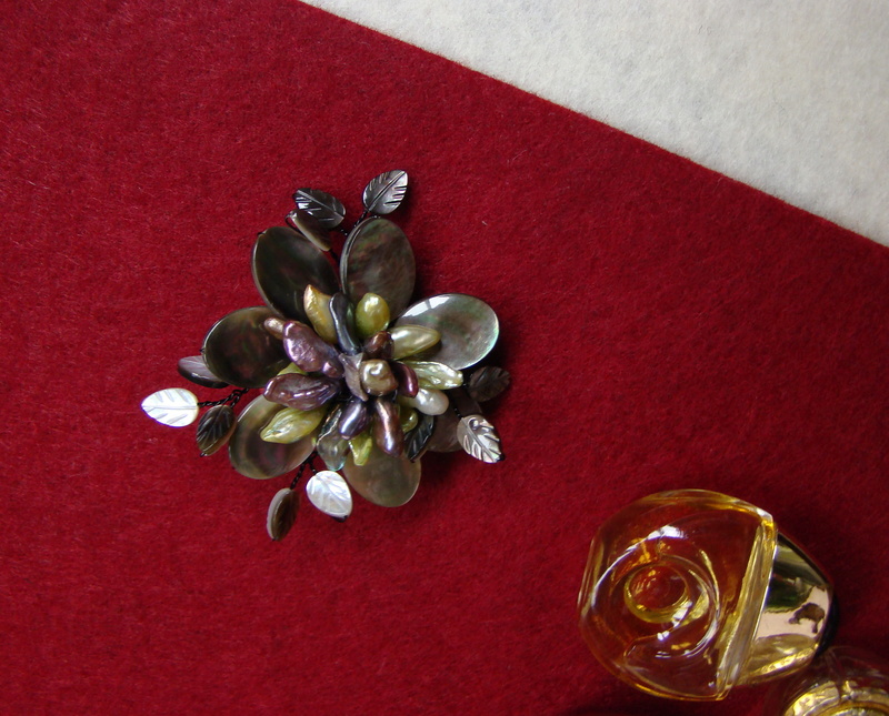 """""""Flori de piatră-Bijoux"""" albumul II-bijuterii artizanale marca Didina Sava - Pagina 12 Colie128"""