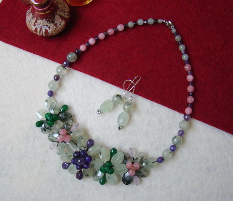 """""""Flori de piatră-Bijoux"""" albumul II-bijuterii artizanale marca Didina Sava - Pagina 10 Colie169"""