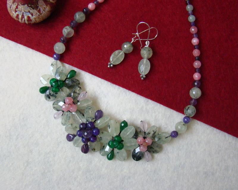 """""""Flori de piatră-Bijoux"""" albumul II-bijuterii artizanale marca Didina Sava - Pagina 10 Colie170"""
