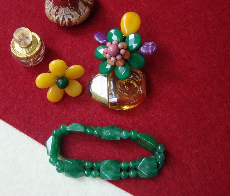"""""""Flori de piatră-Bijoux"""" albumul II-bijuterii artizanale marca Didina Sava - Pagina 10 Colie181"""