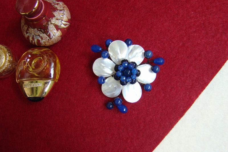 """""""Flori de piatră-Bijoux"""" albumul II-bijuterii artizanale marca Didina Sava - Pagina 10 Colie182"""