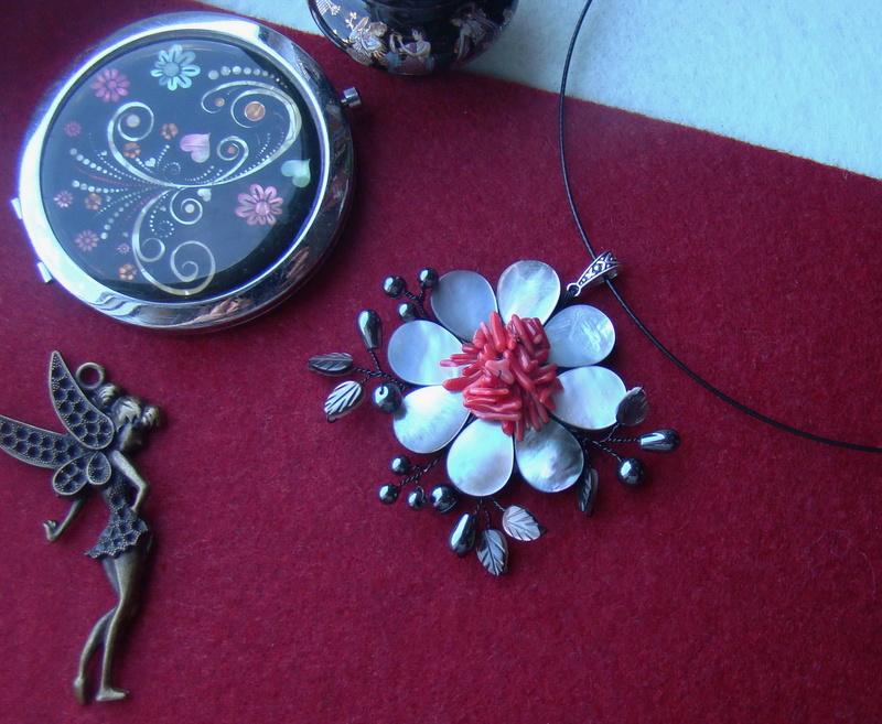 """""""Flori de piatră-Bijoux"""" albumul II-bijuterii artizanale marca Didina Sava - Pagina 10 Colie194"""