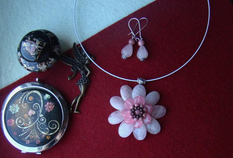 """""""Flori de piatră-Bijoux"""" albumul II-bijuterii artizanale marca Didina Sava - Pagina 10 Colie195"""
