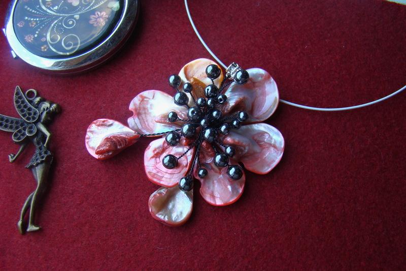 """""""Flori de piatră-Bijoux"""" albumul II-bijuterii artizanale marca Didina Sava - Pagina 10 Colie196"""