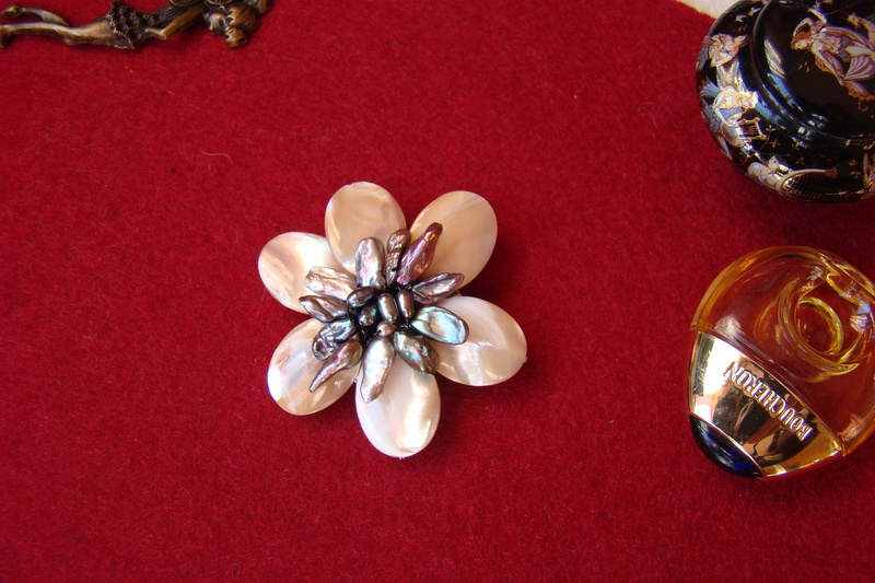 """""""Flori de piatră-Bijoux"""" albumul I-bijuterii artizanale marca Didina Sava Colier29"""