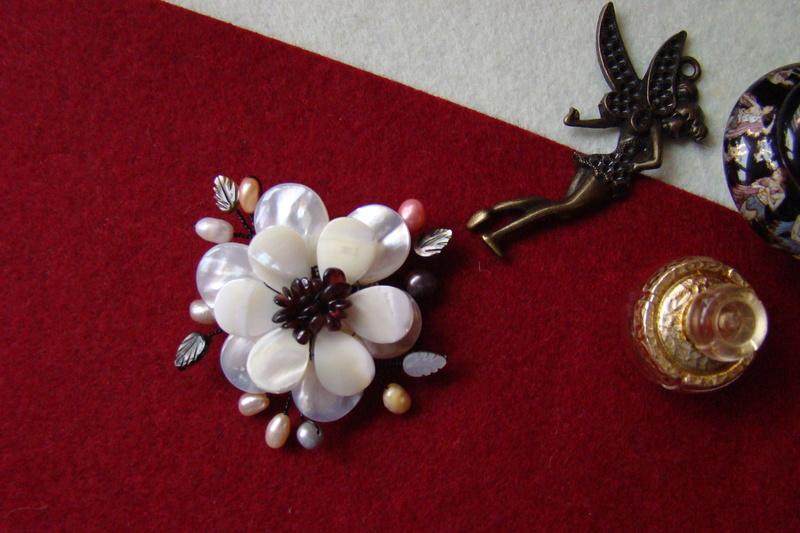 """""""Flori de piatră-Bijoux"""" albumul II-bijuterii artizanale marca Didina Sava - Pagina 15 Colier82"""