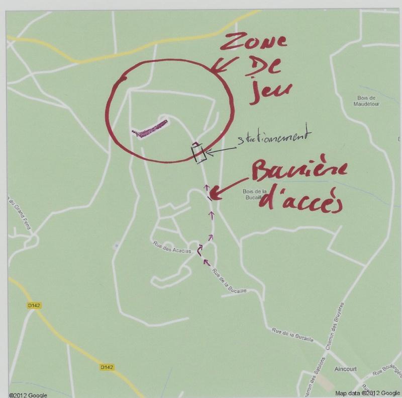 Partie le 27 avril à Aincourt. Acces_10
