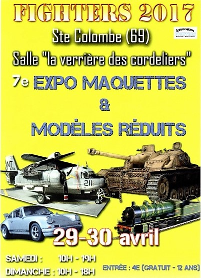 Expo Fighters 2017 Ste-Colombe (69) 29 et 30 avril Fighte10