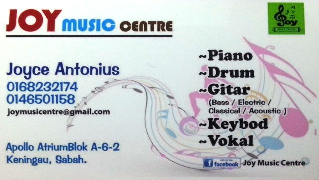 JOY Music Centre -Keningau Kad_jo10