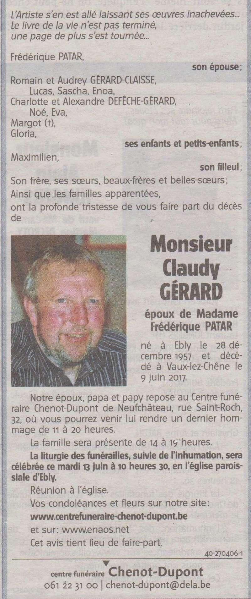 Claudy Gerard  00115