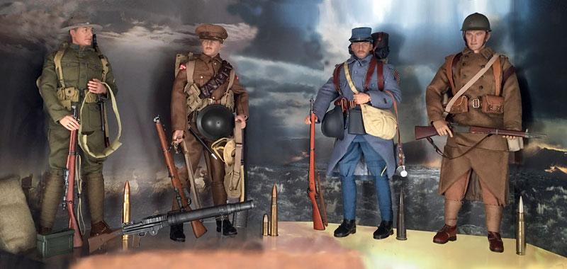 Mannequins première guerre mondiale Dioram22