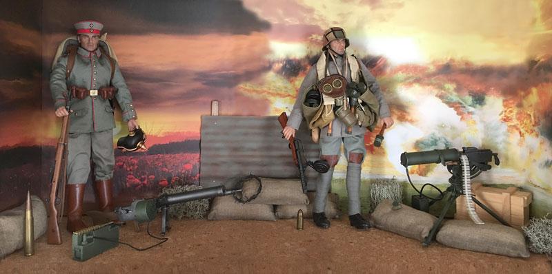 Mannequins première guerre mondiale Dioram24