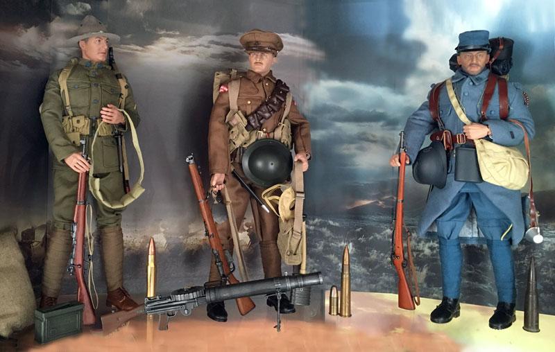 Mannequins première guerre mondiale Dioram25