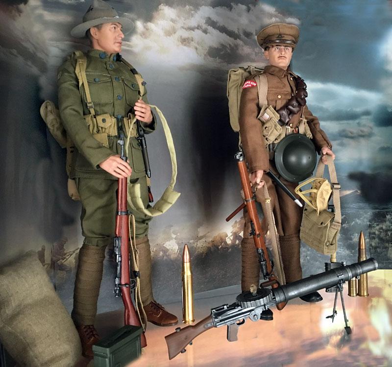 Mannequins première guerre mondiale Dioram26
