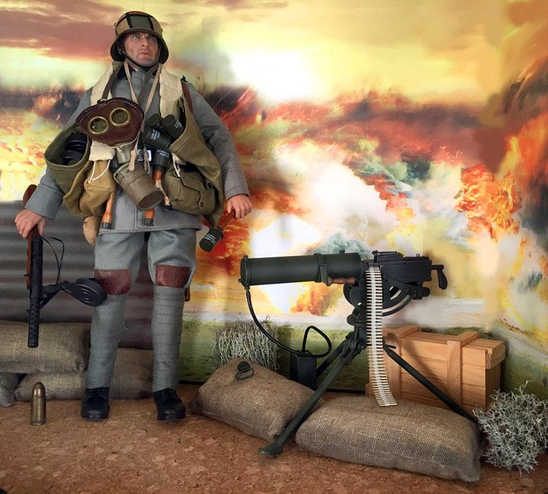 Mannequins première guerre mondiale Dioram27