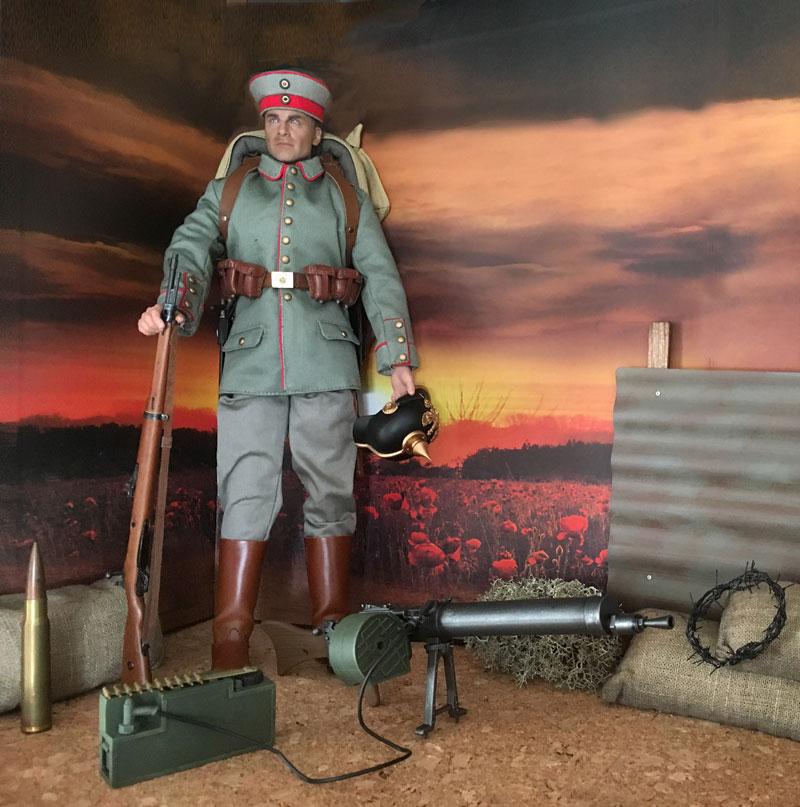 Mannequins première guerre mondiale Dioram28