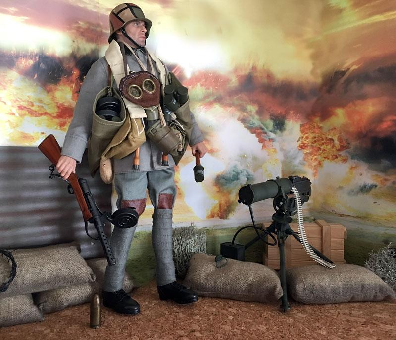 Mannequins première guerre mondiale Dioram29