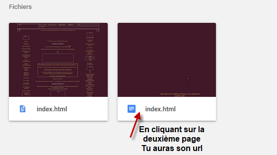 comment heberger ses pages html  510