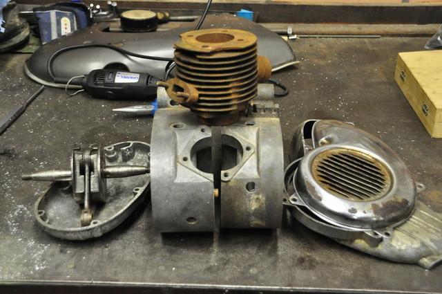 Moteur 75 cc flandria Dsc38910