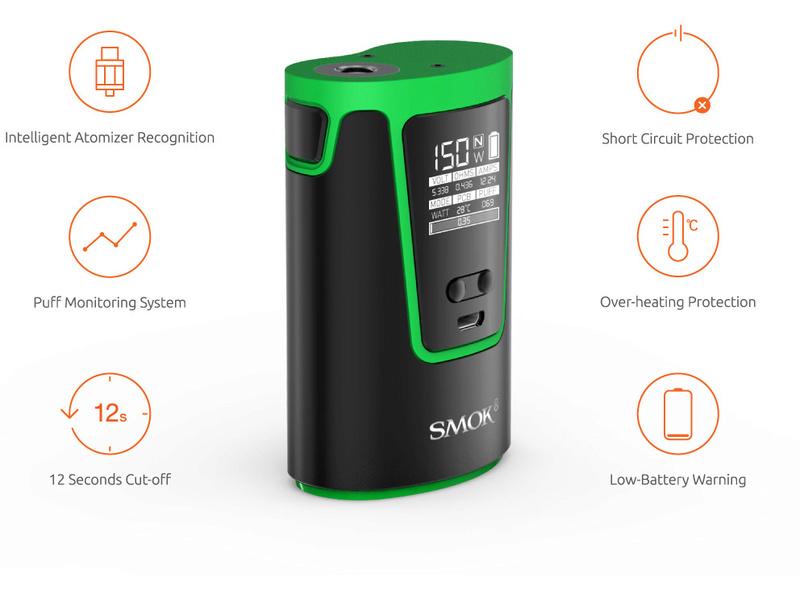 smok g150 : oh tiens une nouvelle box... mais avec une batterie intégrée Smok_g10