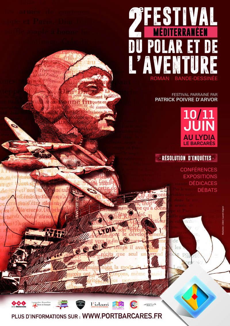 Le Prix du récit fantasy au festival Mediterranééen du polar et de l'aventure Festiv10