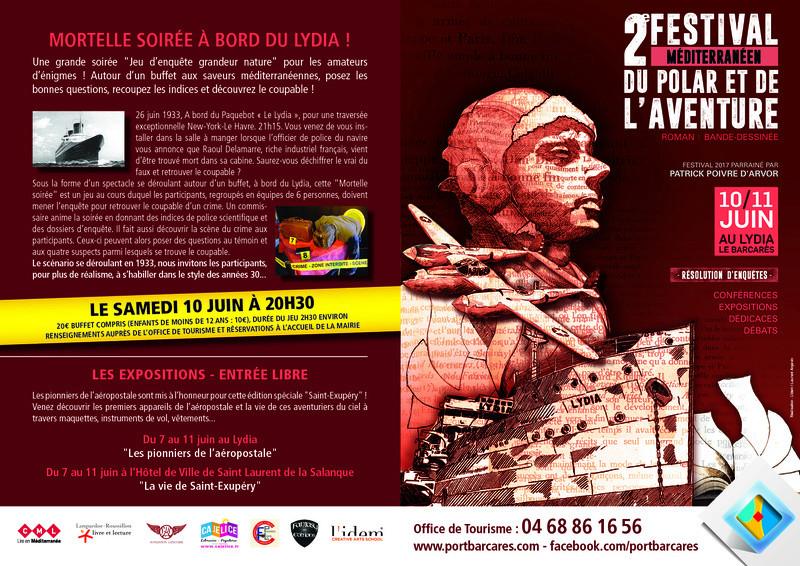 Le Prix du récit fantasy du Festival méditerranéen du polar et de l'aventure Festiv11
