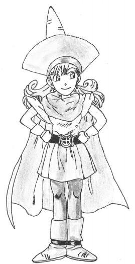 Dragon quest 4 : L'épopée des élus.  Alinaf10