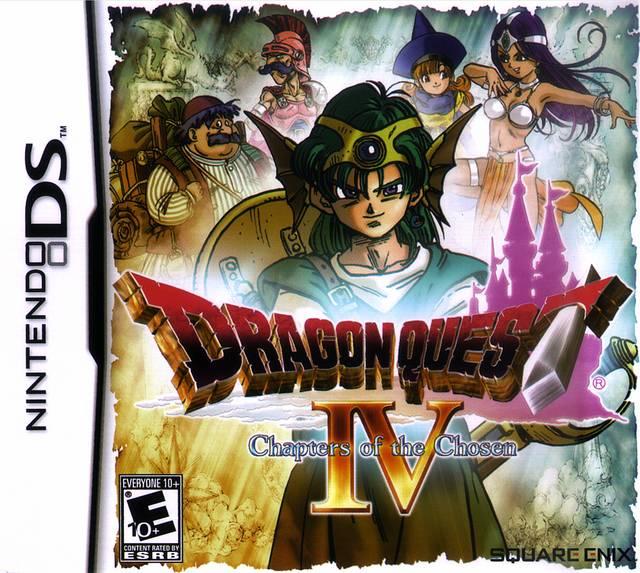Dragon quest 4 : L'épopée des élus.  Dragon10