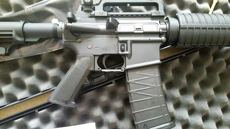 carabine M4 custom en 223 remington. 20170227
