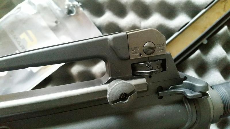 carabine M4 custom en 223 remington. 20170228