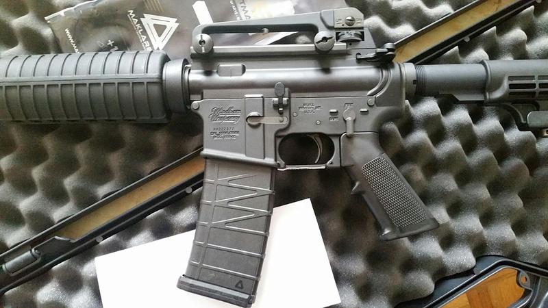 carabine M4 custom en 223 remington. 20170229