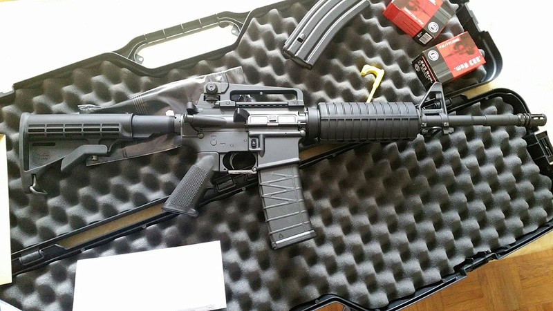 carabine M4 custom en 223 remington. 20170230