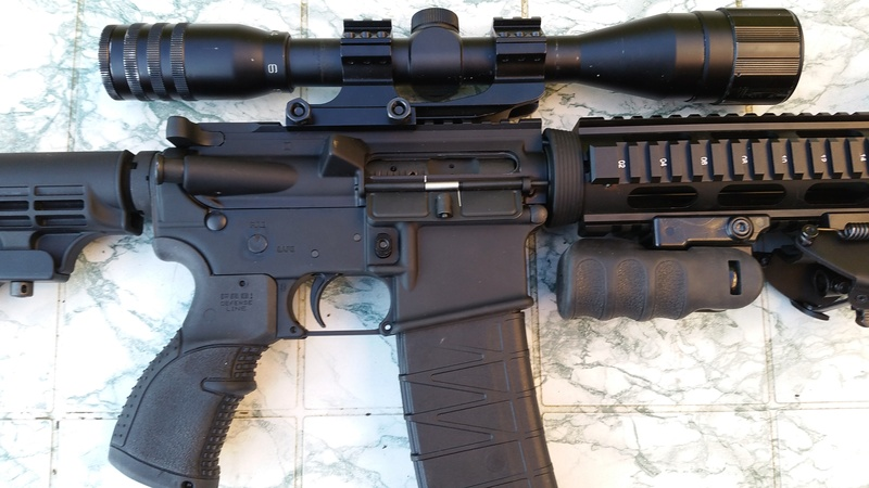 carabine M4 custom en 223 remington. 20170323