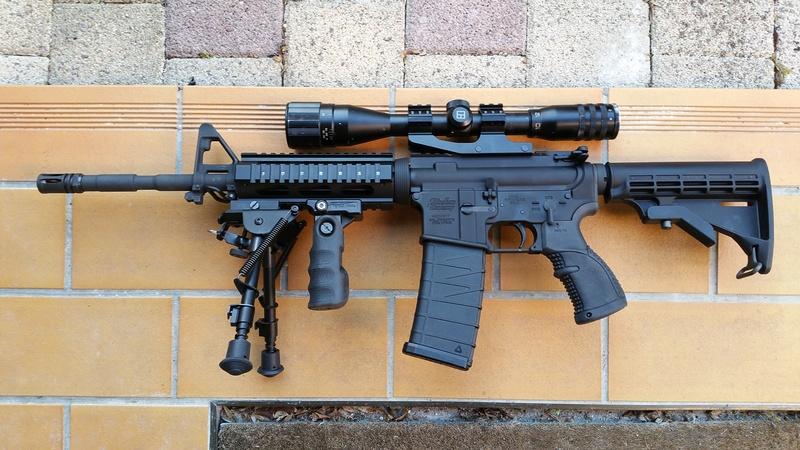 carabine M4 custom en 223 remington. 20170324